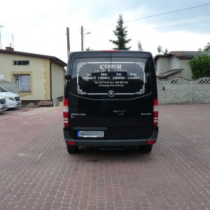 karawan Mercedes Benz Sprinter Bautex